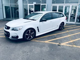 2016 Holden Commodore VF II MY16 SS Sportwagon Black White 6 Speed Sports Automatic Wagon.