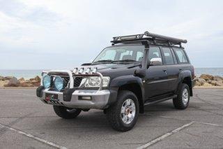 2005 Nissan Patrol GU IV MY05 ST-S Black 4 Speed Automatic Wagon