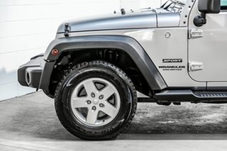2015 Jeep Wrangler JK MY2016 Unlimited Sport Silver 5 Speed Automatic Softtop