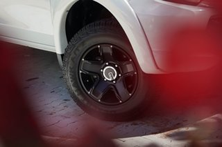 2018 Mitsubishi Triton MQ MY18 GLX Double Cab White 5 Speed Sports Automatic Utility.