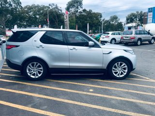 2018 Land Rover Discovery Series 5 L462 MY18 HSE Silver 8 Speed Sports Automatic Wagon.