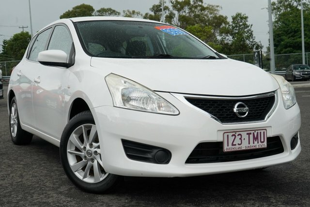 Used Nissan Pulsar C12 ST Hillcrest, 2013 Nissan Pulsar C12 ST White 6 Speed Manual Hatchback