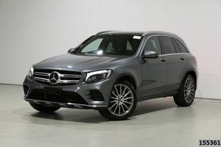 2017 Mercedes-Benz GLC250 253 MY18 Grey 9 Speed Automatic Wagon.
