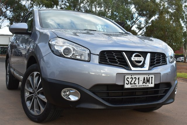 Used Nissan Dualis J10 MY2009 Ti Hatch X-tronic St Marys, 2010 Nissan Dualis J10 MY2009 Ti Hatch X-tronic Silver 6 Speed Constant Variable Hatchback
