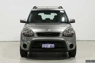 2013 Kia Soul AM MY12 Silver 6 Speed Manual Hatchback.