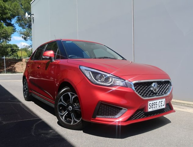 Used MG MG3 SZP1 MY21 Excite Reynella, 2020 MG MG3 SZP1 MY21 Excite Red 4 Speed Automatic Hatchback