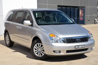 2013 Kia Grand Carnival VQ MY13 S Silver 6 Speed Sports Automatic Wagon.