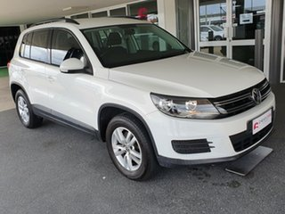 2011 Volkswagen Tiguan 5N MY12 118TSI 2WD White 6 Speed Manual Wagon