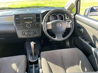 2008 Nissan Tiida C11 MY07 ST-L Silver 4 Speed Automatic Hatchback