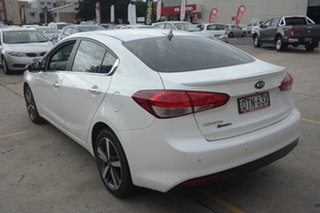 2017 Kia Cerato YD MY18 Sport+ White 6 Speed Sports Automatic Sedan
