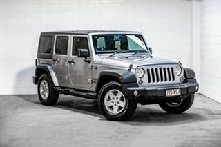2015 Jeep Wrangler JK MY2016 Unlimited Sport Silver 5 Speed Automatic Softtop.