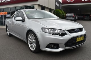 2014 Ford Falcon FG MkII XR6 Ute Super Cab Silver 6 Speed Manual Utility.