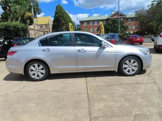 2008 Honda Accord 50 V6 Silver 5 Speed Automatic Sedan.