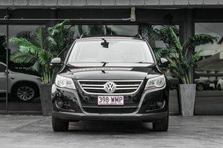 2011 Volkswagen Tiguan 5N MY12 155TSI DSG 4MOTION Black 7 Speed Sports Automatic Dual Clutch Wagon.