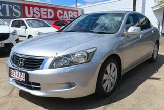 2008 Honda Accord 50 V6 Silver 5 Speed Automatic Sedan