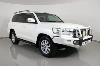 2016 Toyota Landcruiser VDJ200R MY16 VX (4x4) White 6 Speed Automatic Wagon.