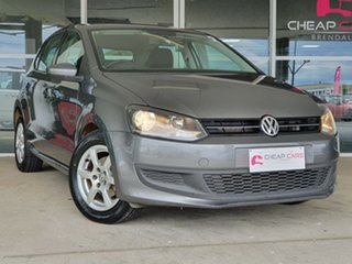 2013 Volkswagen Polo 6R MY13.5 66TDI DSG Comfortline Grey 7 Speed Sports Automatic Dual Clutch.