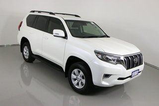 2018 Toyota Landcruiser GDJ150R MY18 Prado GXL (prem Int) (4x4) White 6 Speed Automatic Wagon