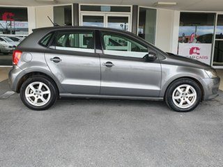 2013 Volkswagen Polo 6R MY13.5 66TDI DSG Comfortline Grey 7 Speed Sports Automatic Dual Clutch