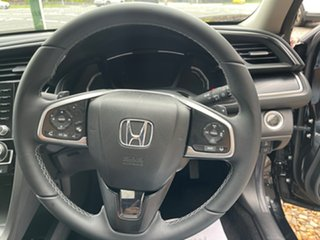 2020 Honda Civic 10th Gen MY20 VTi-LX Crystal Black 1 Speed Constant Variable Sedan