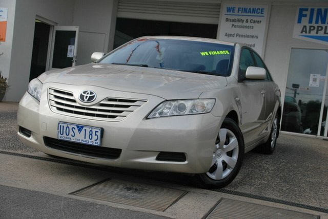 Used Toyota Camry ACV40R Altise Wendouree, 2006 Toyota Camry ACV40R Altise Beige 5 Speed Automatic Sedan