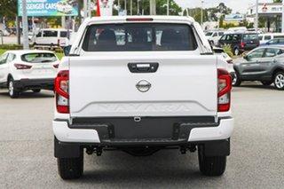 2021 Nissan Navara D23 MY21 ST Polar White 6 Speed Manual Utility.
