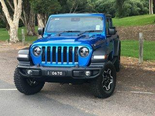 2020 Jeep Gladiator JT MY20 Rubicon Pick-up Atlantic Blue 8 Speed Automatic Utility