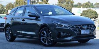 2020 Hyundai i30 PD.V4 MY21 Active Amazon Gray 6 Speed Sports Automatic Hatchback