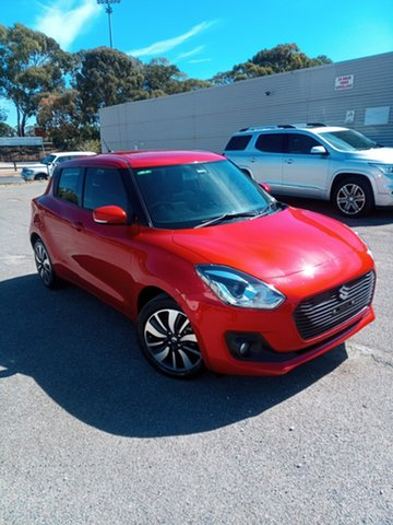 Used Suzuki Swift AZ GLX Turbo Elizabeth, 2018 Suzuki Swift AZ GLX Turbo Red 6 Speed Sports Automatic Hatchback