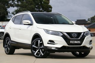2018 Nissan Qashqai J11 Series 2 N-TEC X-tronic White 1 Speed Constant Variable Wagon.