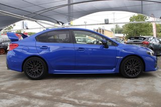 2016 Subaru WRX V1 MY17 STI AWD Blue 6 Speed Manual Sedan.