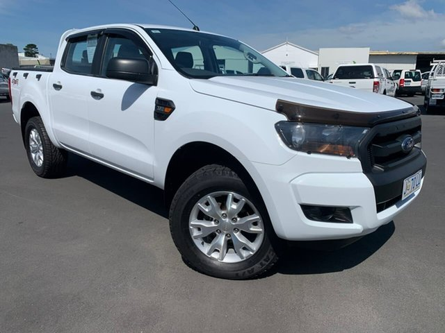 Used Ford Ranger PX MkII XL Moonah, 2017 Ford Ranger PX MkII XL White 6 Speed Sports Automatic Utility