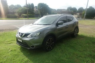 2016 Nissan Qashqai J11 TI Grey 1 Speed Constant Variable Wagon