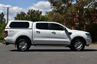 2017 Ford Ranger PX MkII 2018.00MY XLT Double Cab 4x2 Hi-Rider White 6 Speed Sports Automatic
