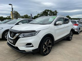 2020 Nissan Qashqai J11 Series 3 MY20 Ti X-tronic White 1 Speed Constant Variable Wagon.