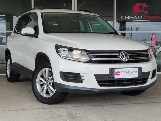 Used Volkswagen Tiguan 5N MY12 118TSI 2WD Brendale, 2011 Volkswagen Tiguan 5N MY12 118TSI 2WD White 6 Speed Manual Wagon