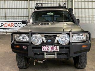2000 Nissan Patrol GU II ST Silver 5 Speed Manual Wagon
