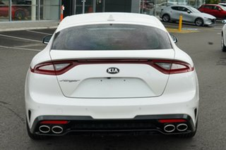 2018 Kia Stinger CK MY19 330S Fastback White 8 Speed Sports Automatic Sedan