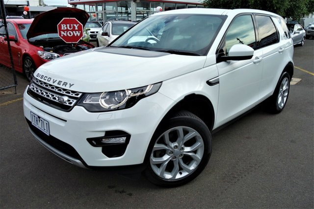 Used Land Rover Discovery Sport L550 16.5MY HSE Luxury Seaford, 2016 Land Rover Discovery Sport L550 16.5MY HSE Luxury White 9 Speed Sports Automatic Wagon