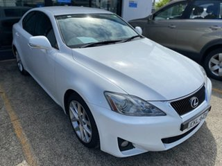 2011 Lexus IS GSE20R MY11 IS250 Sports Luxury White 6 Speed Sports Automatic Sedan.