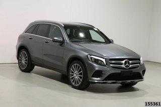 2017 Mercedes-Benz GLC250 253 MY18 Grey 9 Speed Automatic Wagon