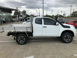 2014 Isuzu D-MAX MY15 SX Space Cab White 5 Speed Manual Cab Chassis.