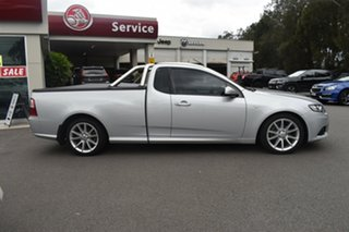 2014 Ford Falcon FG MkII XR6 Ute Super Cab Silver 6 Speed Manual Utility