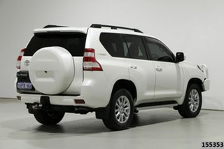 2014 Toyota Landcruiser Prado KDJ150R MY14 VX (4x4) White 5 Speed Sequential Auto Wagon