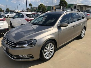 2014 Volkswagen Passat Type 3C MY15 130TDI DSG Highline Brown 6 Speed Sports Automatic Dual Clutch.