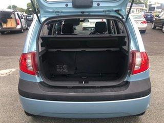 2009 Hyundai Getz TB MY09 SX Blue 5 Speed Manual Hatchback