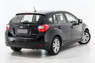 2015 Subaru Impreza G4 MY15 2.0i AWD Black 6 Speed Manual Hatchback.