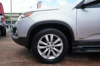2012 Kia Sorento XM MY12 Platinum (4x4) Silver 6 Speed Automatic Wagon.