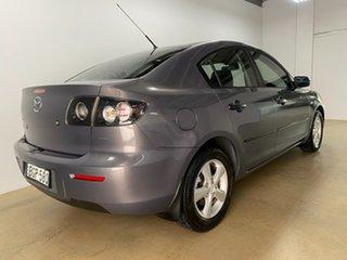 2008 Mazda 3 BK MY06 Upgrade Maxx Grey 4 Speed Auto Activematic Sedan.