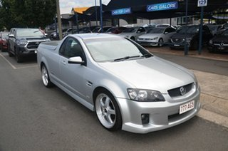 2008 Holden Commodore VE MY09.5 SS Silver 6 Speed Automatic Utility.